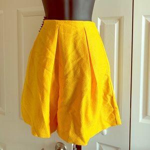 Golden Yellow Skirt